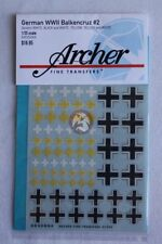 Archer 1/35 Balkenkreuz (Iron Cross) Markings Mix #2 German Armor WWII AR35044