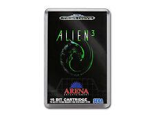 ALIEN 3 Sega Megadrive Game Cover Art Fridge Magnet