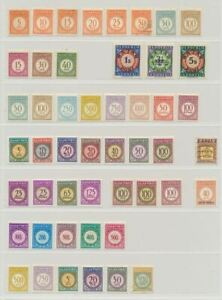 Indonesia Small Collection of Postage Dues 49v MNH/MH/Used