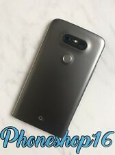 Original LG G5 Akkudeckel Deckel Backcover Cover Gehäuse Taste Linse H850 Grau