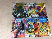 FANTASTIC FORCE #1,2,3,4,5,6 LOT OF 6 COMIC 1994-1995 MARVEL