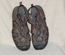 Ozark Trail Mens Size 10 Manmade Material Brown Hiking Sandals