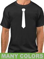 Fake Tie Necktie Funny T-Shirt Tuxedo Wedding T Shirt Tux Bachelor Party Tee