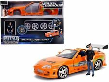 Fast and Furious Brians Toyota Supra With Brian Figure Kit 30699