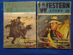 Pulp Lot #35  Western Story!!