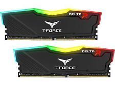 T-force Delta RGB Series Dual Channel Ddr4 2666 MHz 2 X 8gb Black (tf3d416g2666h