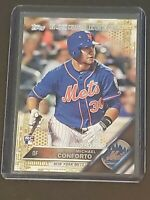 2016 Topps Update Debut Gold /2016 Michael Conforto True RC Rookie Mets!!!