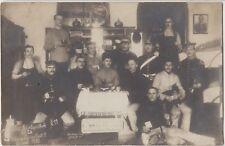 GERMAN SOLDIERS Pickelhaube Training Battalion Real Photo PC Cassel 1910