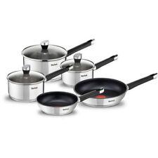 Tefal Emotion Stainless Steel Pan Set 5 Pcs - E824S544