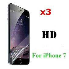NEW 3X Front Screen Protector Ultra Slim Film Clear LCD Guard for Apple iPhone 7