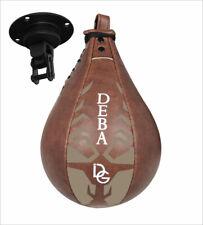 Deba® Speedball Leder Boxen Punchingball Boxbirne Schlagbirne Boxball DE