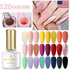 BORN PRETTY 6ml Soak Off UV Gel Nail Polish Rose Gold Glitter Nail Art Varnish