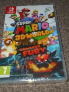 Super Mario 3D World + Bowser's Fury Nintendo Switch  New & Sealed UK Pal Pegi 7