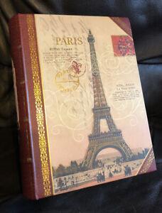 Paris Eiffel Tower Fake Book (Storage Box 11 X 8 Inch)