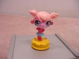 McDonald's 2012 HASBRO Happy Meal - Littlest Pet Shop - Pink Twirling Minka Monk
