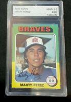 1975 Topps #499 Marty Perez Atlanta Braves | MINT+ 9.5