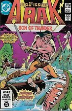 Arak Son of Thunder No.1 / 1981 Roy Thomas Ernie Colon
