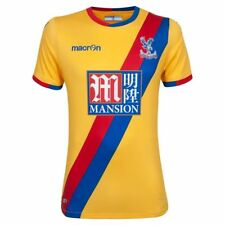CRYSTAL PALACE football SHIRT Soccer 16/17 Yellow PlayerFit UK MEDIUM  (L  EU)