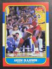 1986-87 Fleer Basketball Akeem Olajuwon Rookie Card #82
