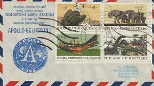 1971 USA cover Apollo Program - Barstow CA Goldstone MSFN Station