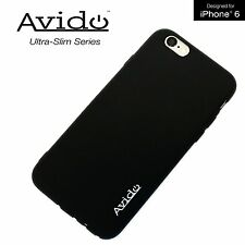 "Avido iPhone 6/6s 4.7"" Case Premium Phone Case with Anti-Dust Cover Black NEW"