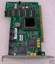 LSI 1504064 MegaRAID 64-bit 66 MHz PCI SATA 150-4 4 Port  RAID Controller Used