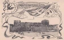 A7697) DEPOSITO DI FANTERIA DI LECCE.