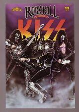 KISS - Rock-N-Roll Biography Comic Book!!  RARE!!
