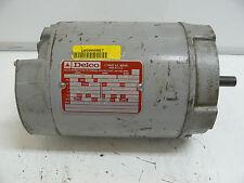 DELCO 2J1624CDZ 3 PHASE AC MOTOR 2 HP 3470/3485 RPM 60 220/440 230/460 VOLT