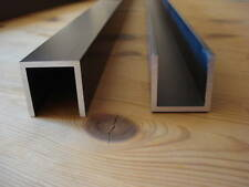 4 Stück Massives Aluminium U Profile  30 x 30 x 30 mm  3 mm dick