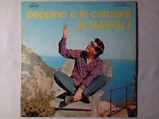 PEPPINO DI CAPRI E le canzoni di Napoli lp RARISSIMO