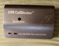CPR Telephone Call Blocker V108 Blocks All SPAM Phone Calls Tested Works