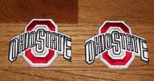 "2x NEW Ohio State University OSU Buckeyes Logo Patch 2.7"" Polo Shirt Size *R3"