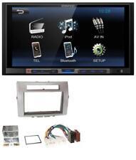 Kenwood mp3 USB 2din Bluetooth aux radio del coche para Toyota Corolla Verso 04-09 silb