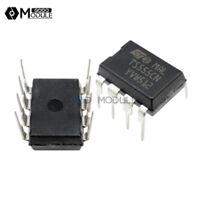 10PCS TS555CN 555 DIP8 ST IC TIMER LOW POWER CMOS NEW WC
