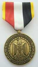 OPERATION IRAK FREEDOM  COMMEMORATIVE MEDAL AVEC RIBBON