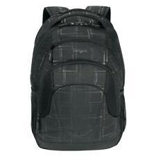 Targus Sport Matrix Laptop Backpack Carry Case - Black/Grey Suitable For