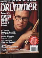 Modern Drummer - April 2004