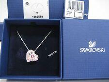 Swarovski Alana Heart Pendant , Love Pink, Lt. Rose Clear Crystal - 1062588