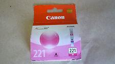Canon CLi 221 M red ink cartridge - PIXMA MP990 MP980 MP640 MP630 MP620 printer