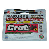 Marukyu Amino Boosted Crab Artifical Bait LRF fishing