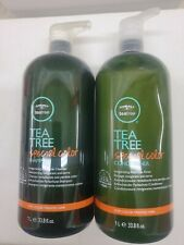 Paul Mitchell Tea Tree Special Color Shampoo and Conditioner Liter/33.8 oz Duo