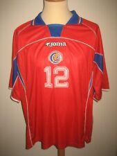 Costa Rica MATCH WORN home football shirt soccer jersey trikot camiseta size XL