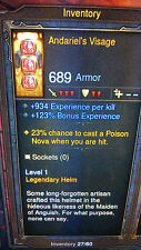 Diablo 3 ROS XBOX 360 NEW Puce Power Level Set. Très Haute EXP Set utiliser à lvl 1