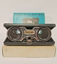 Vintage Sport Glass 2.5X Stellar Pocket Folding Opera Binoculars - Nos!