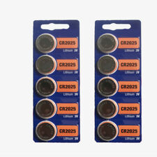 5pcs Coin Button Battery For SONY CR2025 CR 2025 3v Watch Set