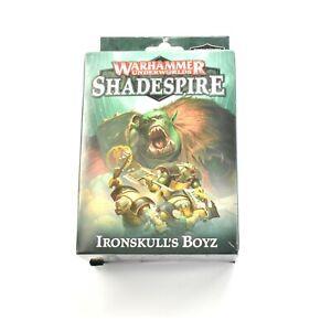 WARHAMMER UNDERWORLDS SHADESPIRE Ironskull's Boyz Warhammer Sigmar