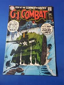 G.I. Combat #139 White Pages VG/FN