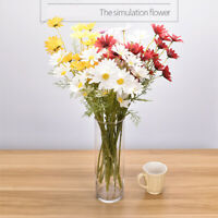 10pcs Artificial Plants Silk Flowers Bouquet Cosmos Flowers Wedding Home Decor