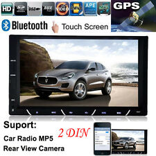 "7"" HD 2 DIN salpicadero Bluetooth Radio De Coche Android USB Radio FM MP3 MP4"